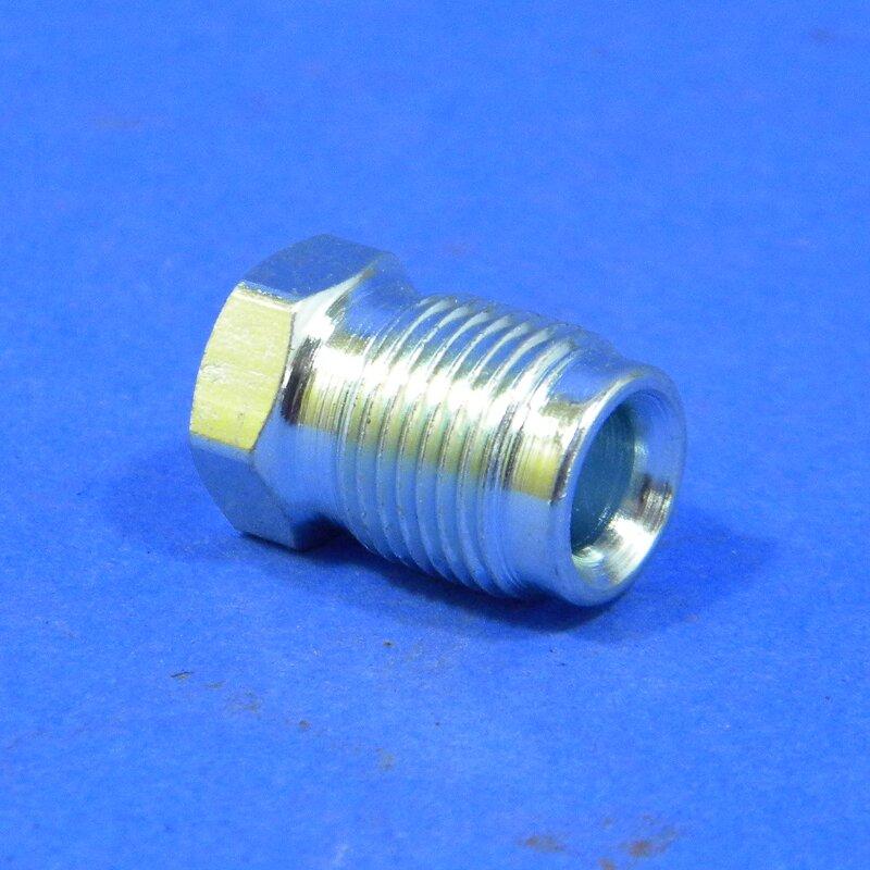 Überwurfmutter M12x1, Bördel E für 6 mm Bremsleitung, Barkas B1000, Wartburg 311, Framo