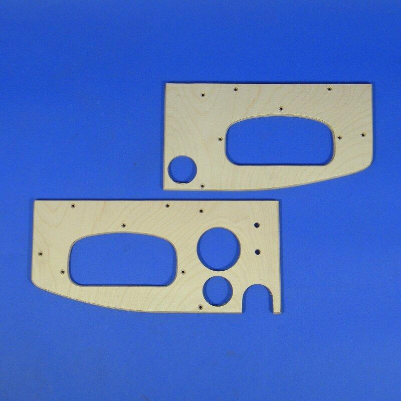 Armaturentafel, Framo V901/2 Pritsche, Holzteil 2-teilig