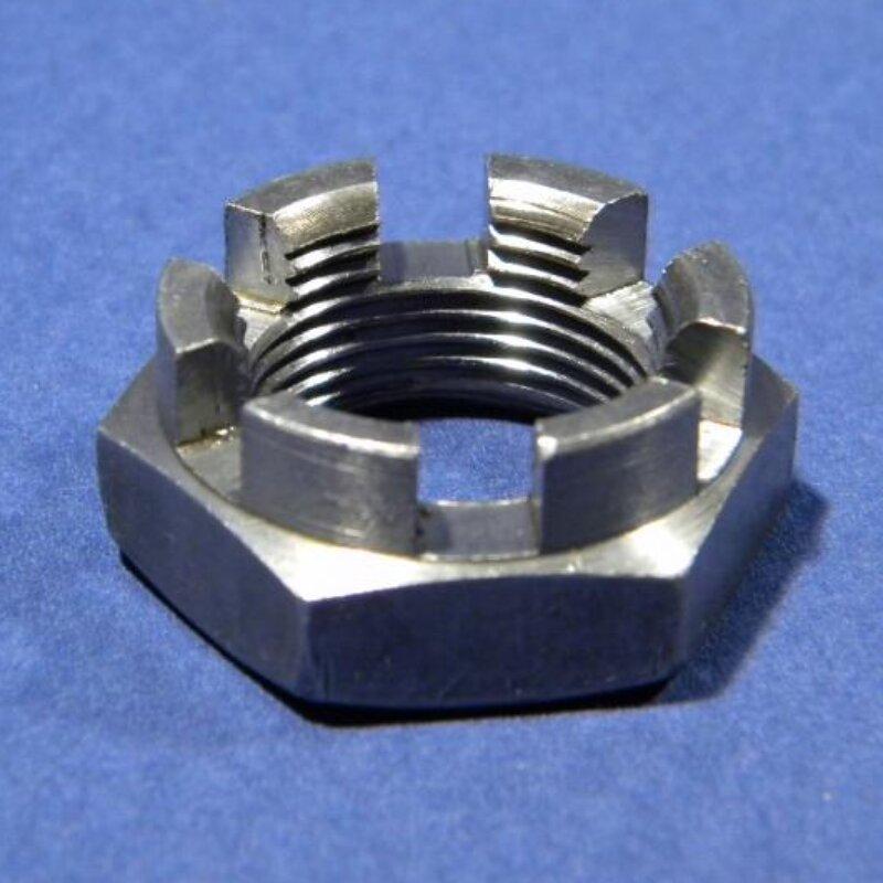 Kronenmutter M22x1,5 niedrige Form DIN 937