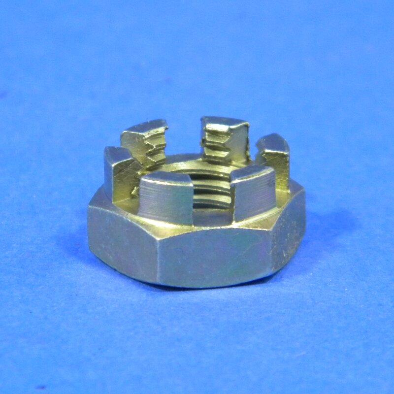 Kronenmutter M12x1,5 niedrige Form DIN 937