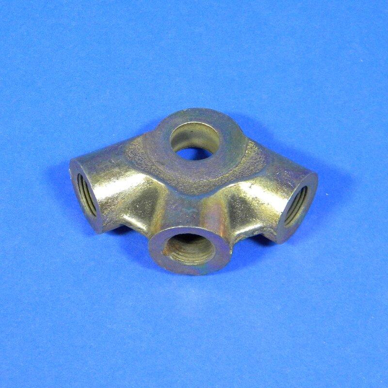 Ringverteiler 3-fach M12x1 für Hauptbremszylinder Framo Wartburg