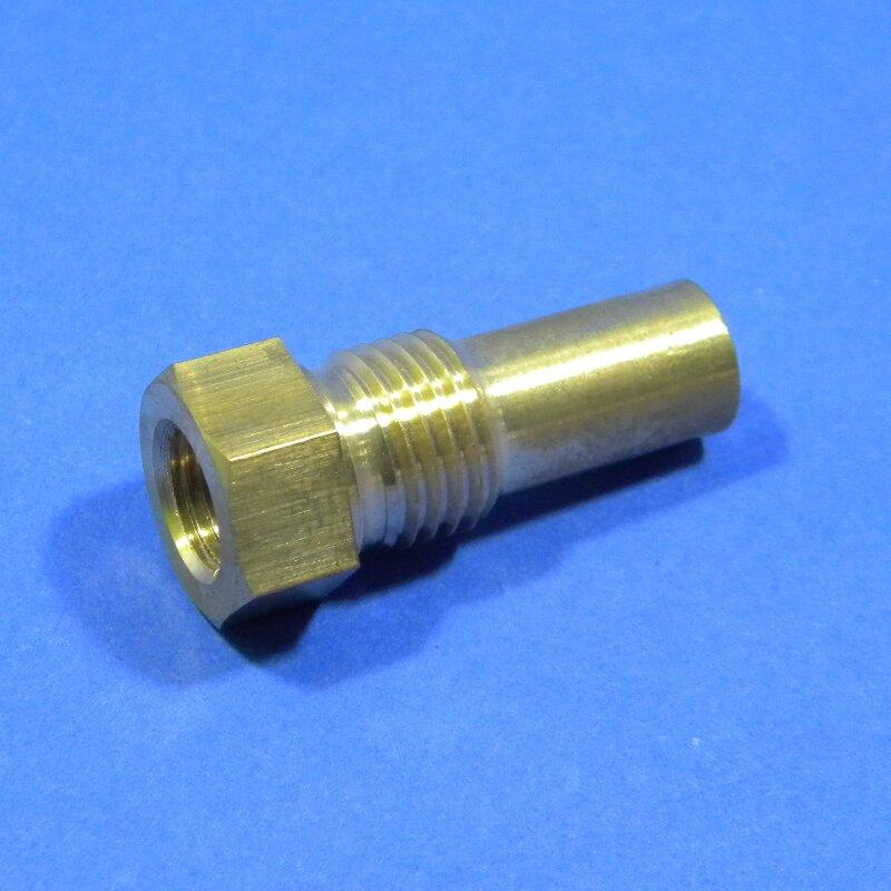 Anschlußstück für mechanisches Fernthermometer